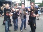 Metallists, beer, mainstage