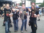 Metallists, beer, main stage