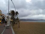 Las Canteras, stormy